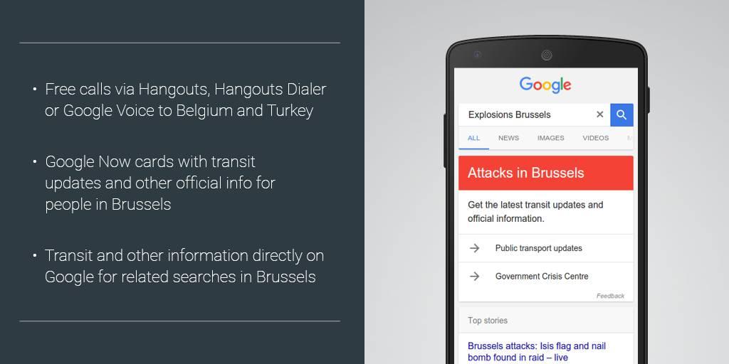 Google Hangouts Brussels