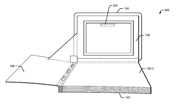 Google Pop up book patent 01