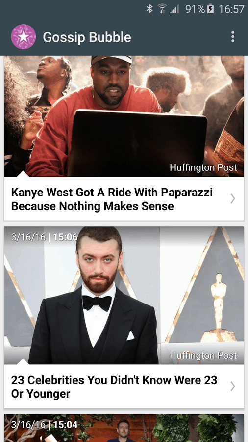 Gossip Bubble - Celebrity News