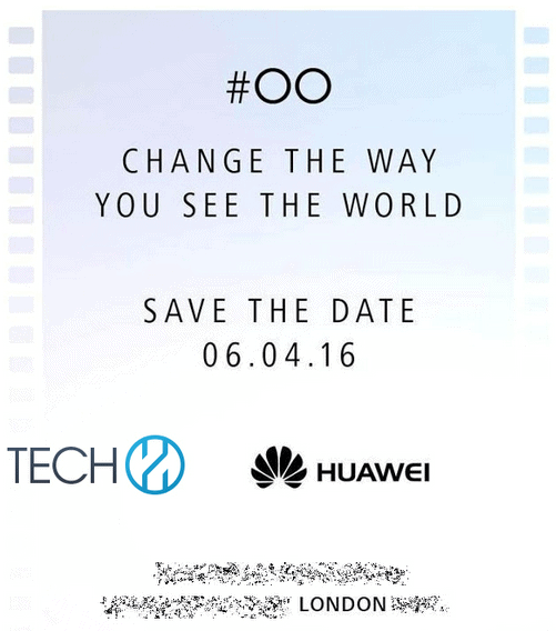 Huawei P9 Launch Invite Mar 2016 KK