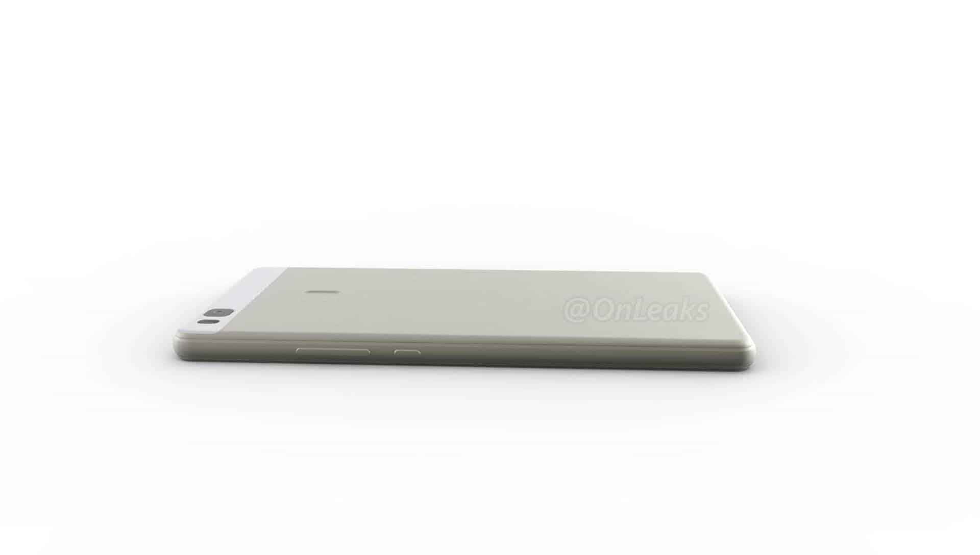 Huawei P9 Lite leaked render 11