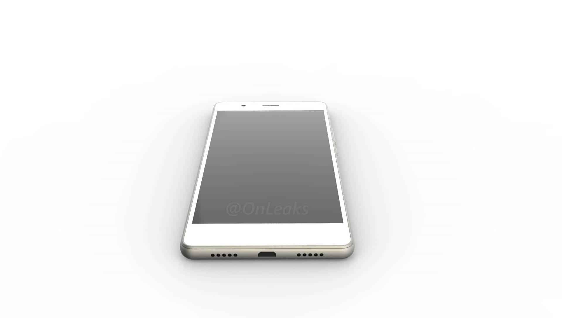 Huawei P9 Lite leaked render 3