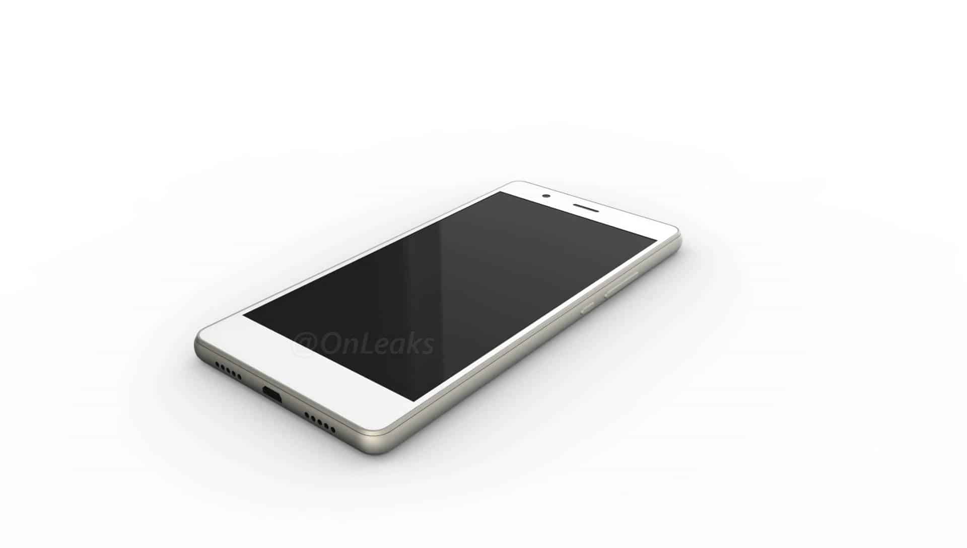 Huawei P9 Lite leaked render 4