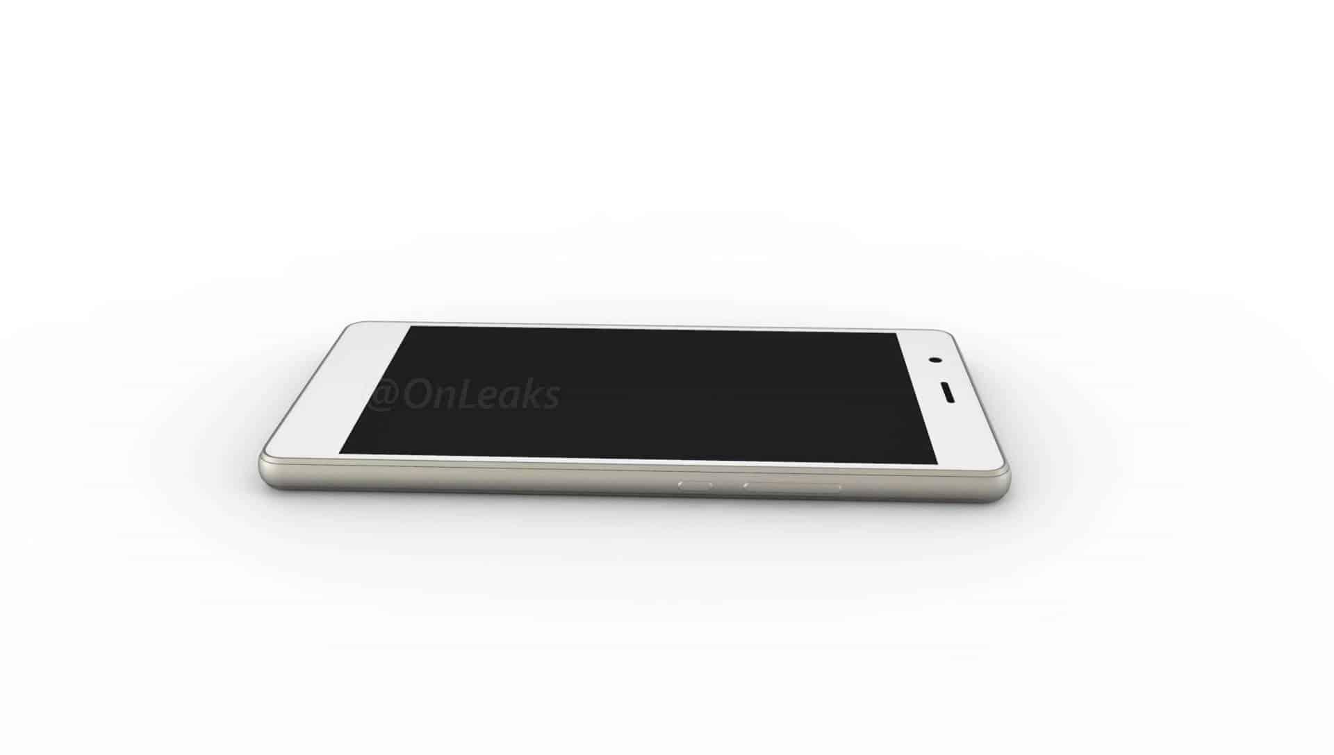 Huawei P9 Lite leaked render 5