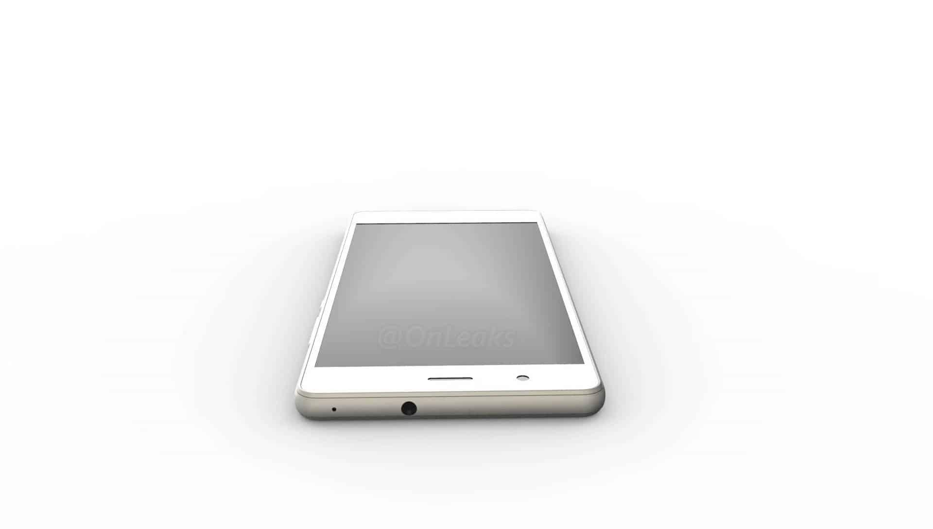 Huawei P9 Lite leaked render 6