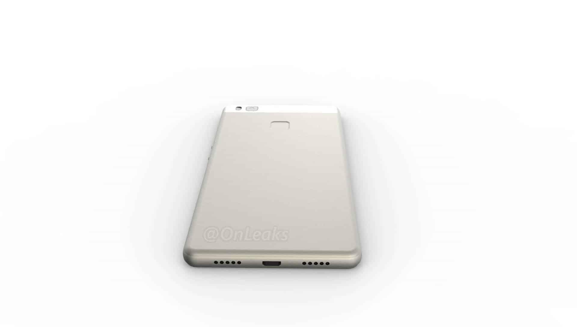 Huawei P9 Lite leaked render 8