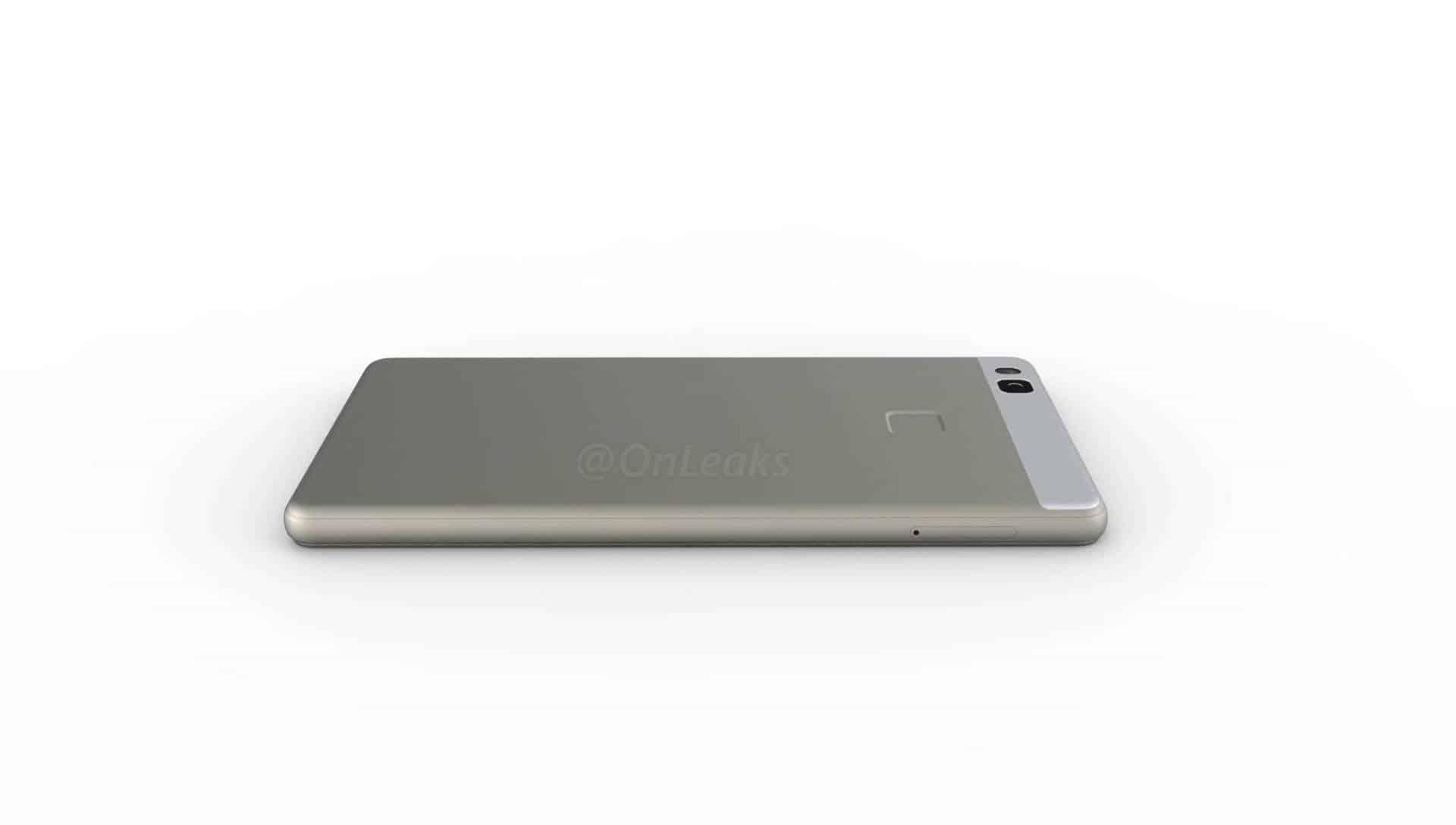 Huawei P9 Lite leaked render 9