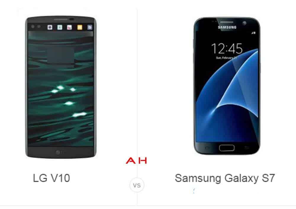 LG V10 vs Galaxy S7 cam AH