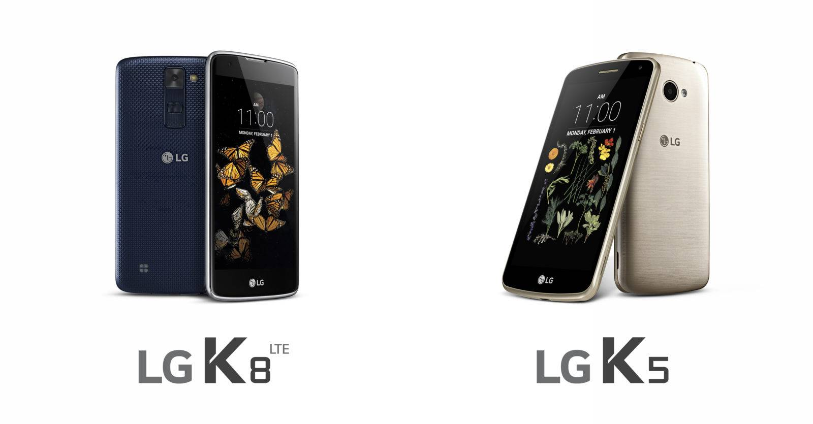 LG K5 and K8