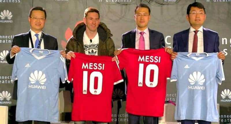 Lionel Messi & Huawei_1