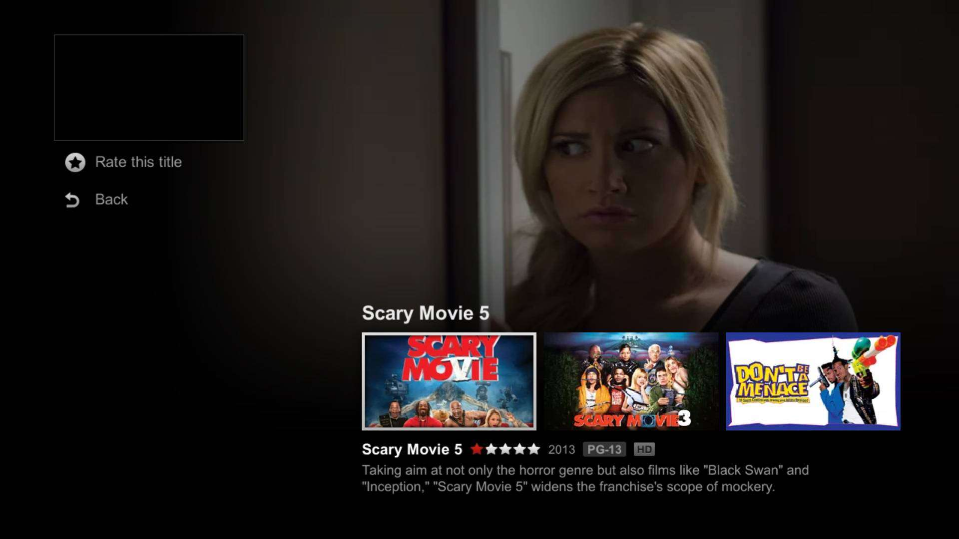 Netflix PIp Android TV