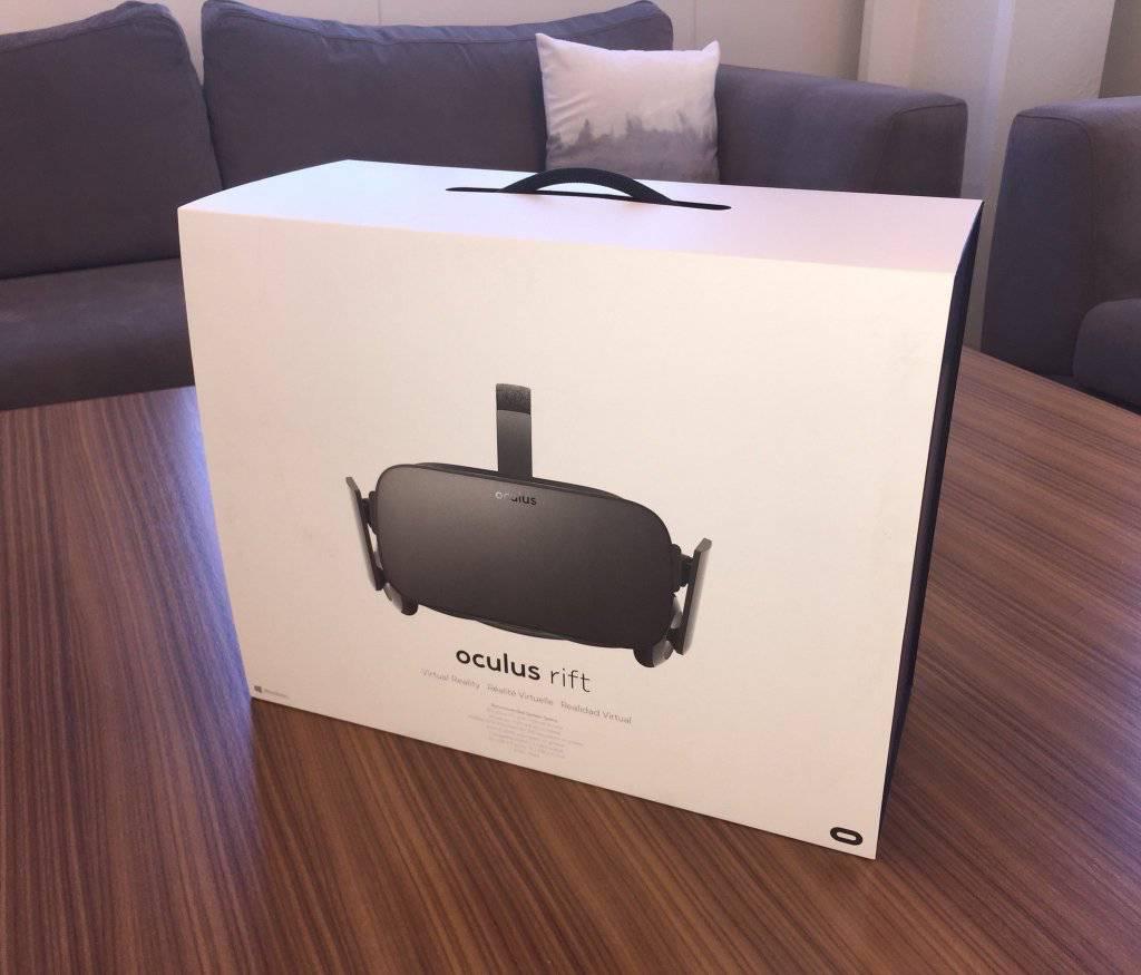 Oculus Rift pre-order package KK