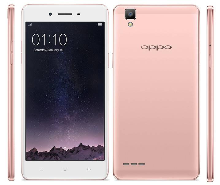 Oppo F1 Rose Gold edition_1