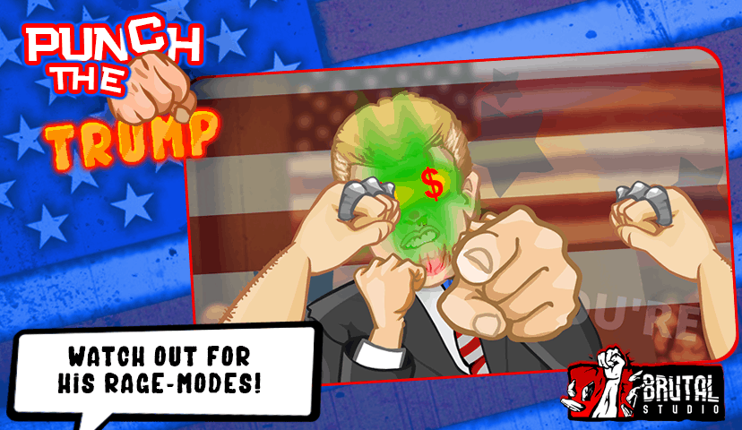 Punch The Trump Play Store Image 3 KK