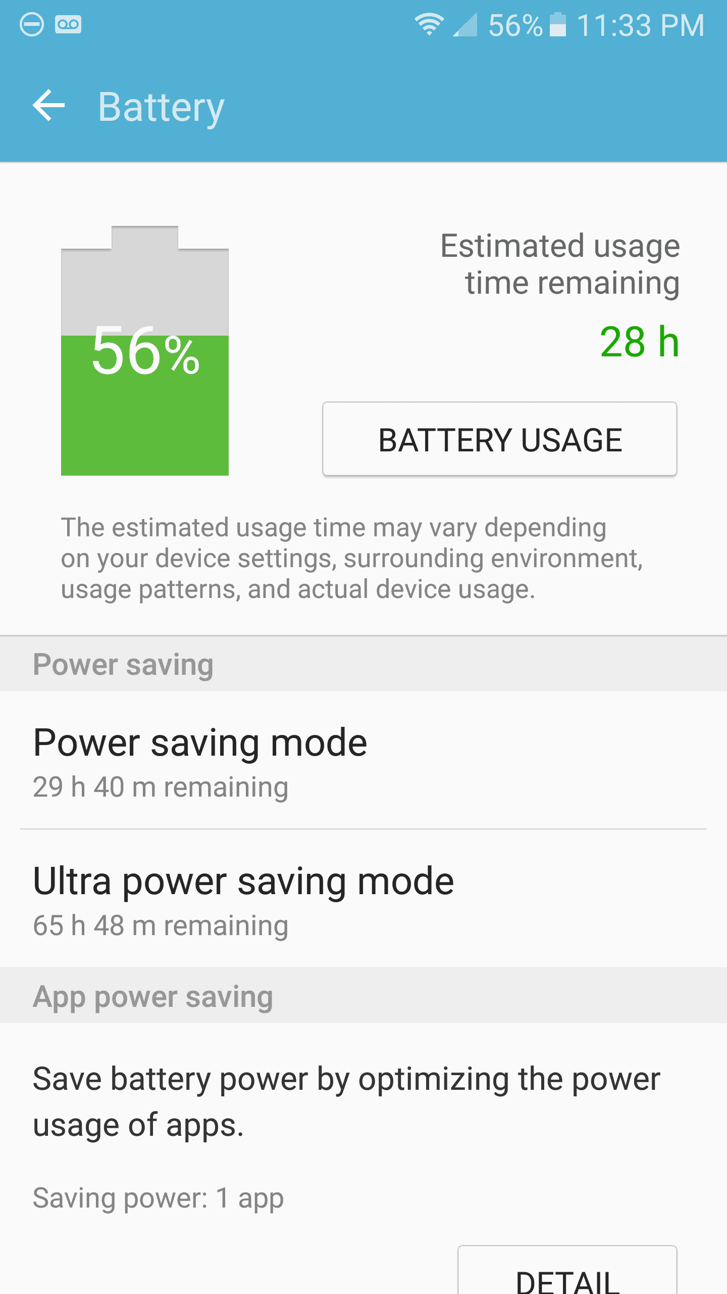 Samsung Galaxy S7 AH NS Screenshots battery 3