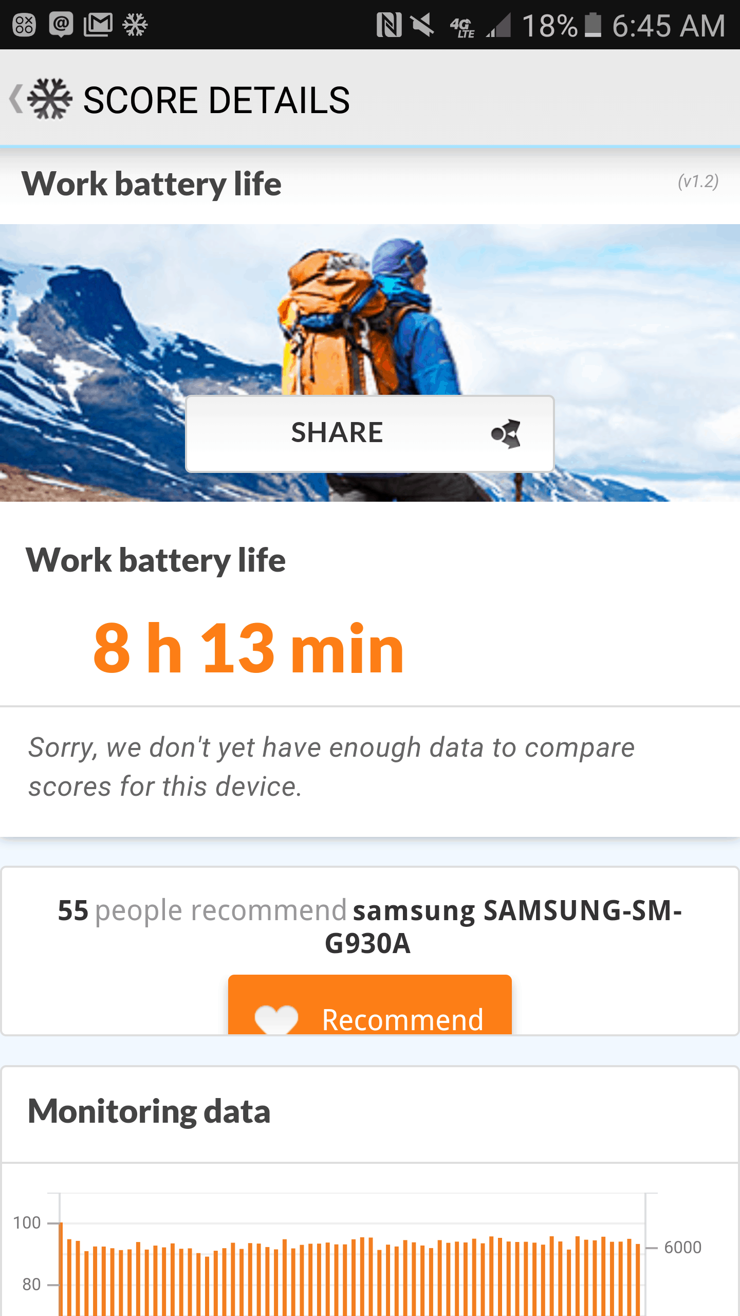 Samsung Galaxy S7 AH NS Screenshots battery test