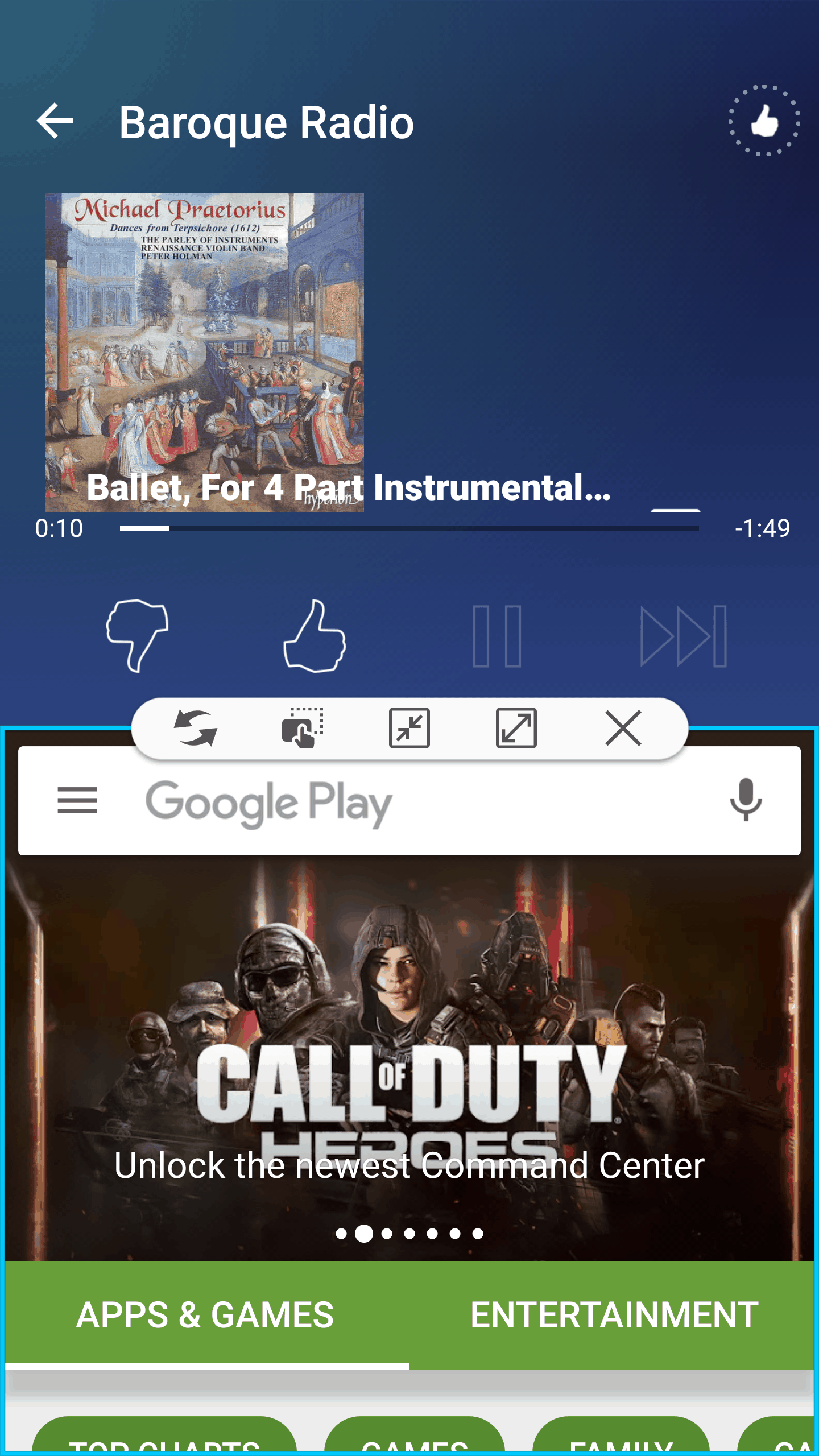 Samsung Galaxy S7 AH NS Screenshots multi window