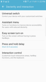 Samsung Galaxy S7 Edge AH NS Screenshot accessibility