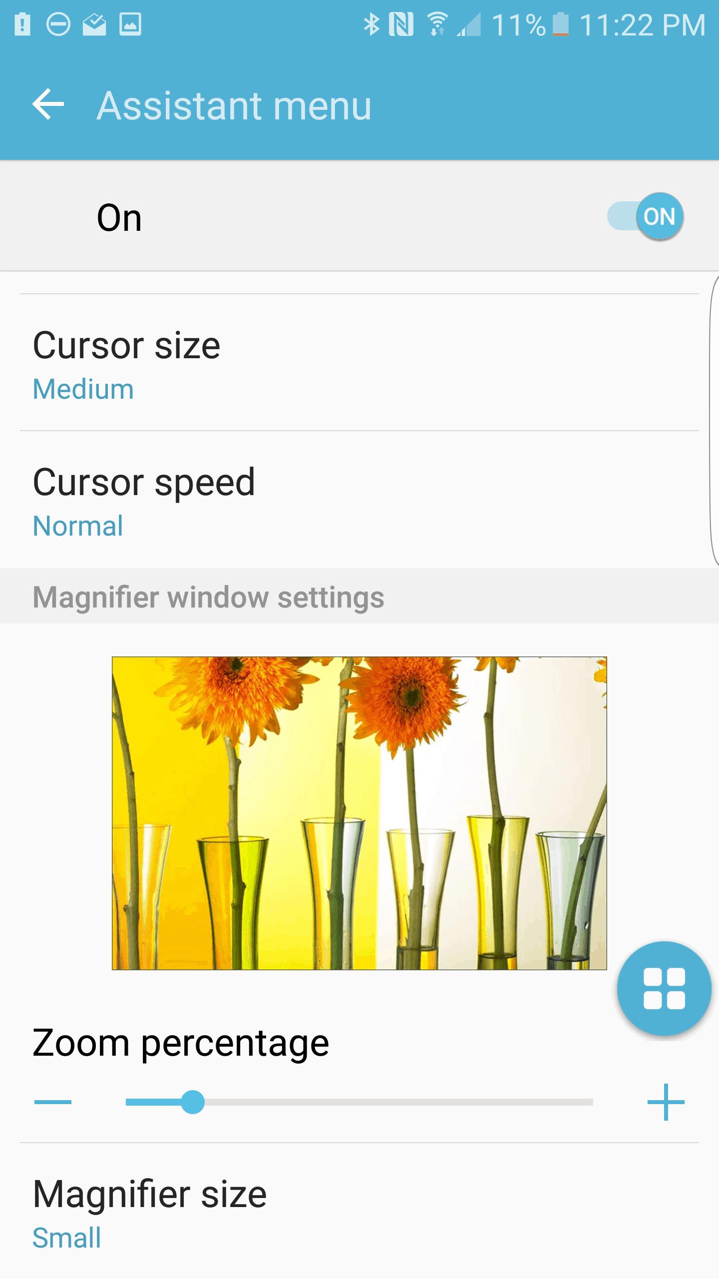 Samsung Galaxy S7 Edge AH NS Screenshot accessibility 3