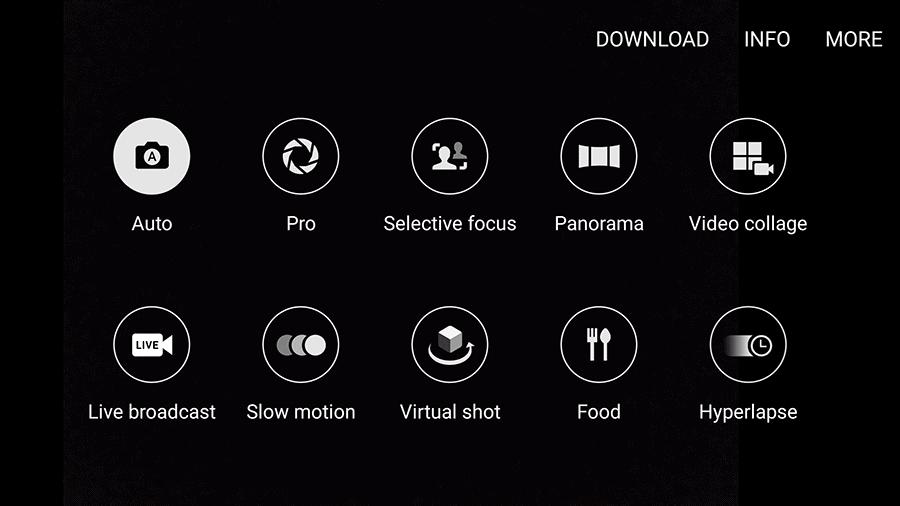 Samsung Galaxy S7 Edge AH NS Screenshot camera ui 2