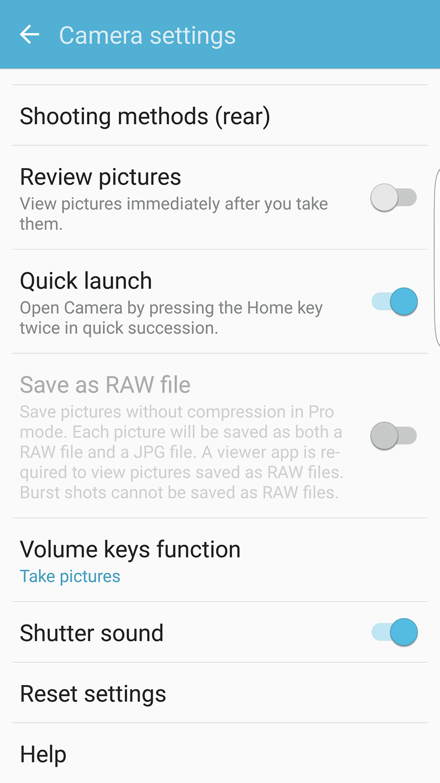 Samsung Galaxy S7 Edge AH NS Screenshot camera ui 6