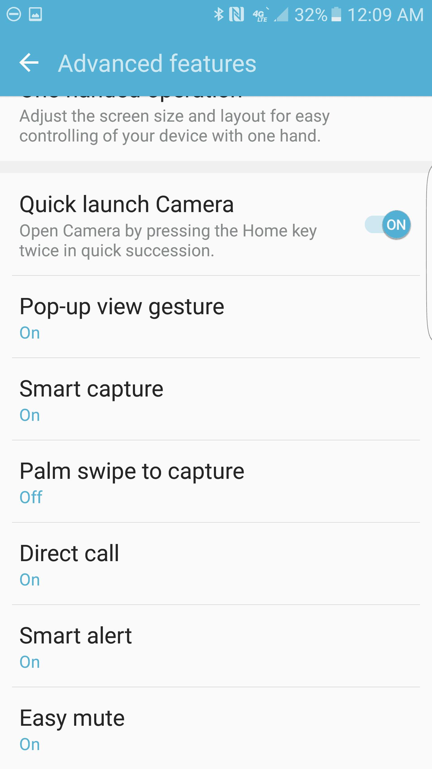 Samsung Galaxy S7 Edge AH NS Screenshot gestures 2