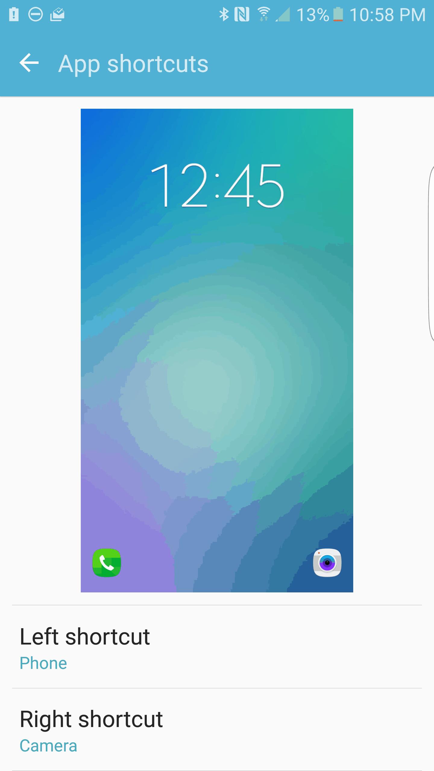 Samsung Galaxy S7 Edge AH NS Screenshot lockscreen options