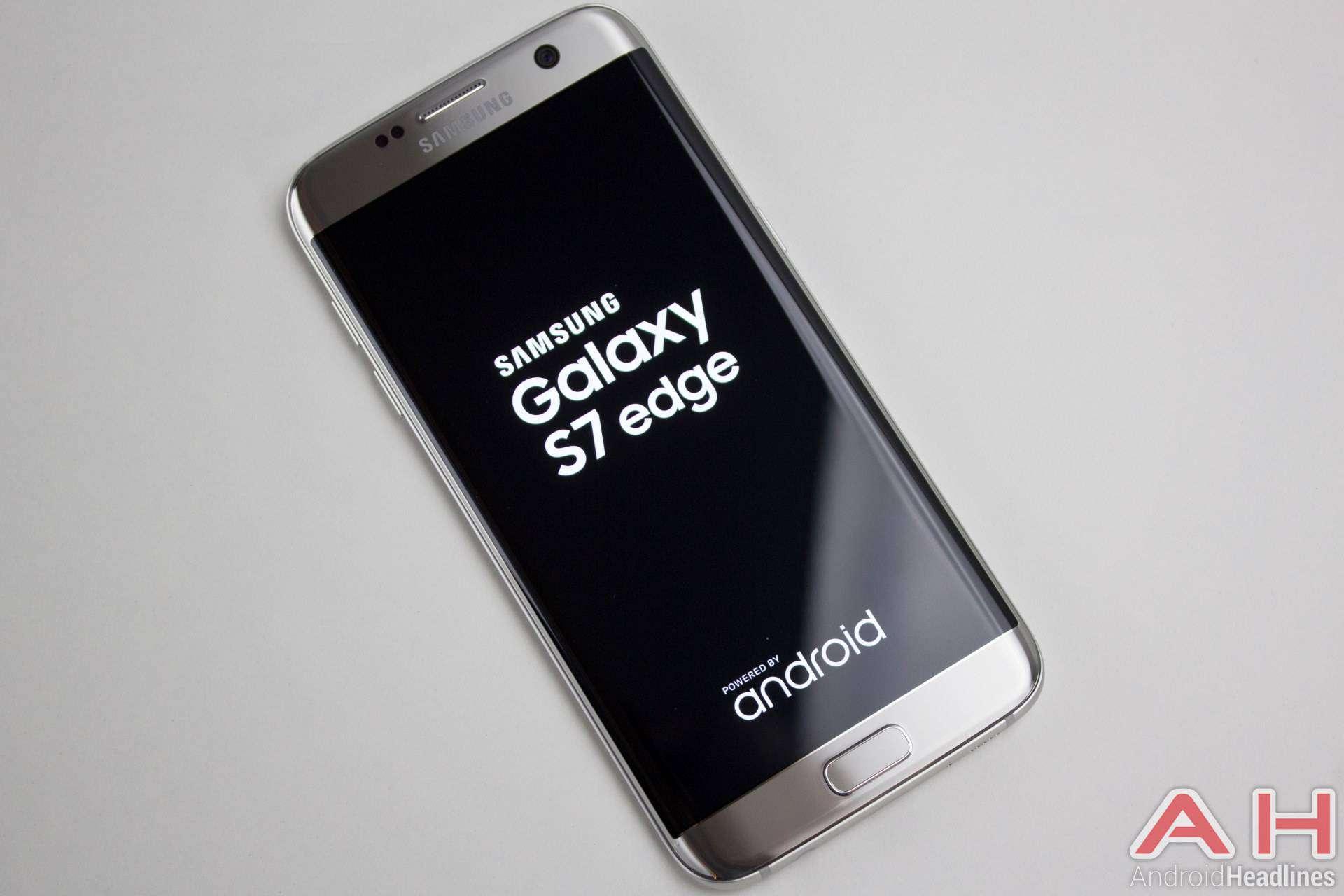 Samsung Galaxy S7 Edge AH NS Titanium logo 1