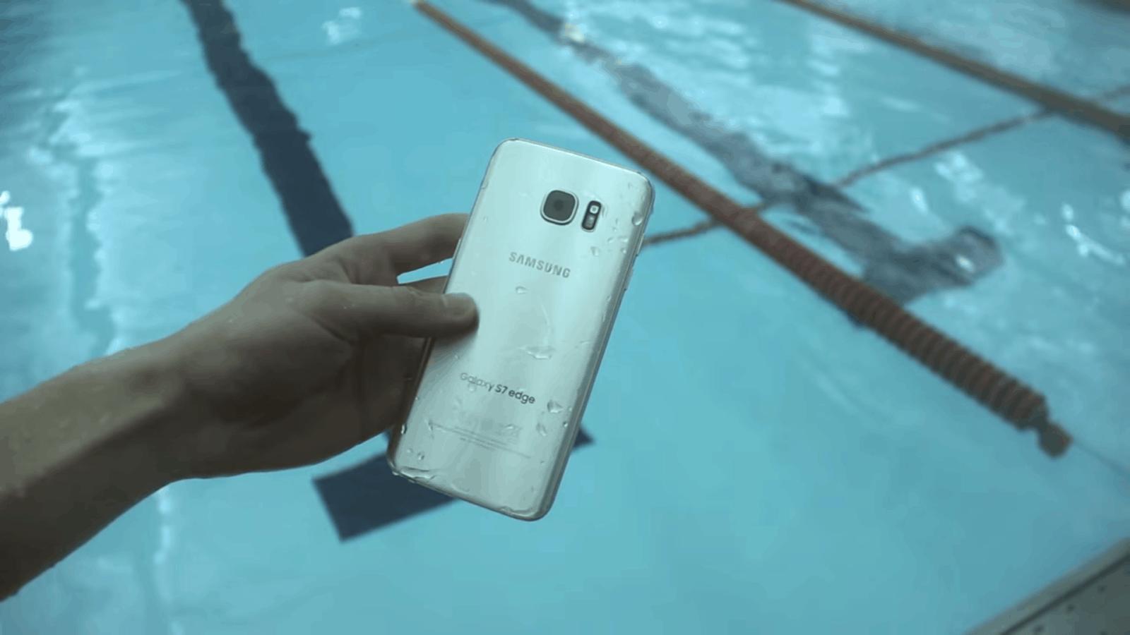 Samsung Galaxy S7 Edge pool test_1