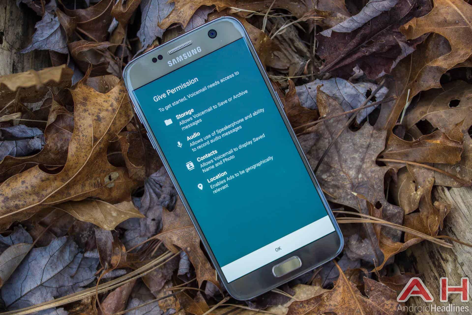 Samsung Galaxy S7 Gold AH NS app permissions