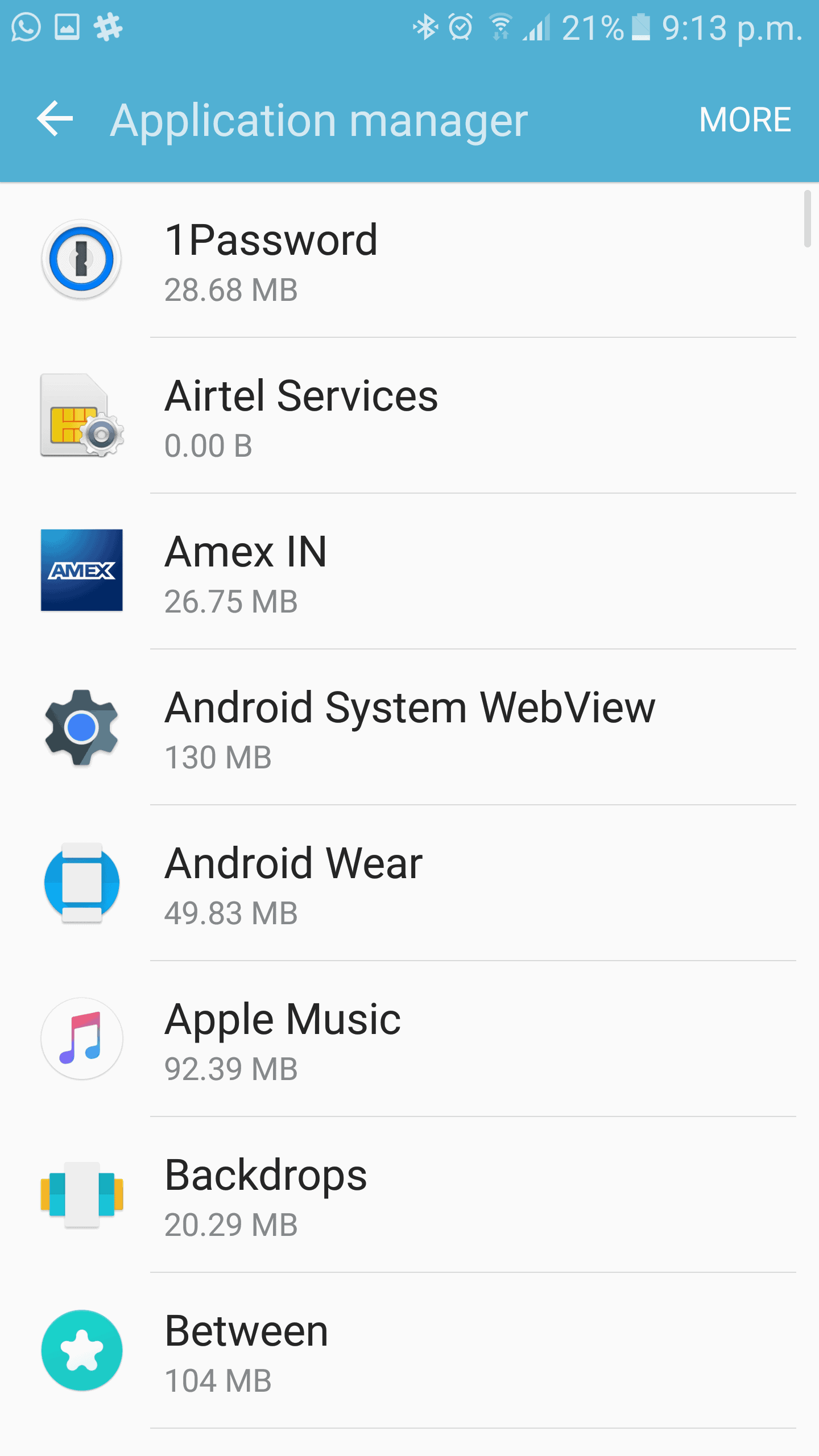 Samsung Galaxy S7 move apps 1