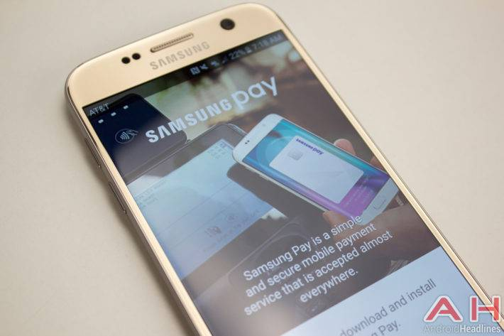 Samsung Galaxy S7 samsung pay