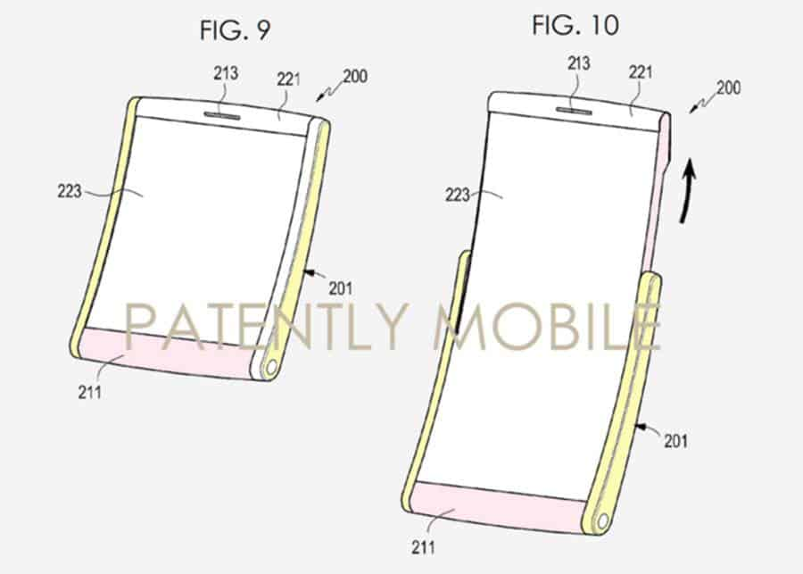 Samsung foldable device patent 2