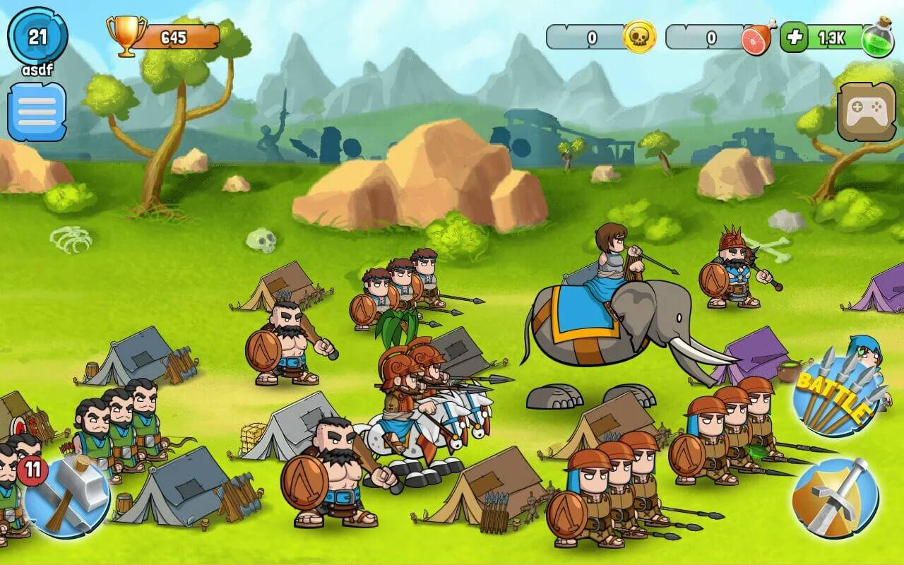 Spartania is a fun amp addicting strategy game android