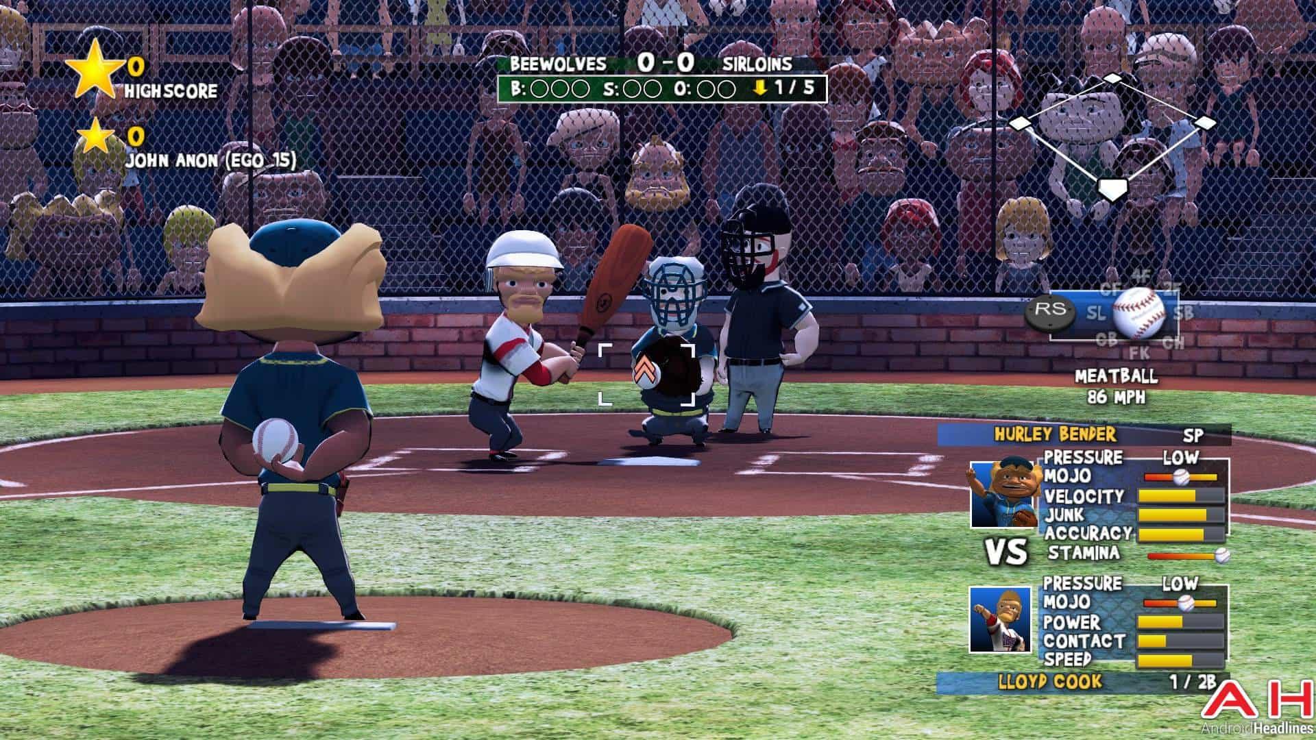 Super Mega Baseball Android TV AH 11