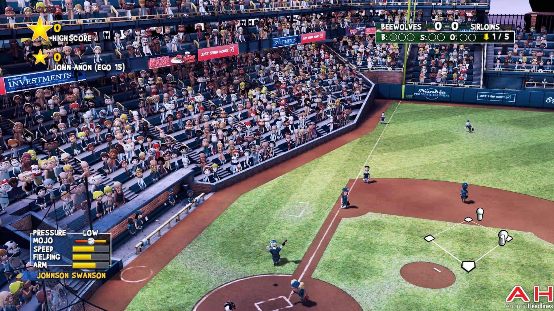 Super Mega Baseball Android TV AH 12