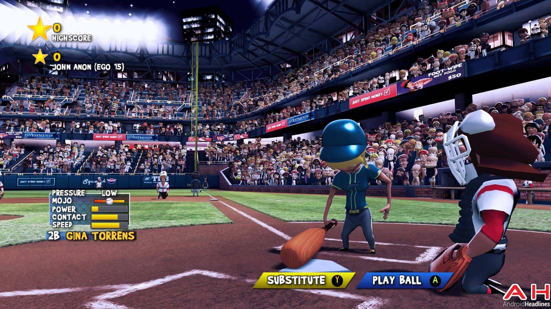 Super Mega Baseball Android TV AH 8