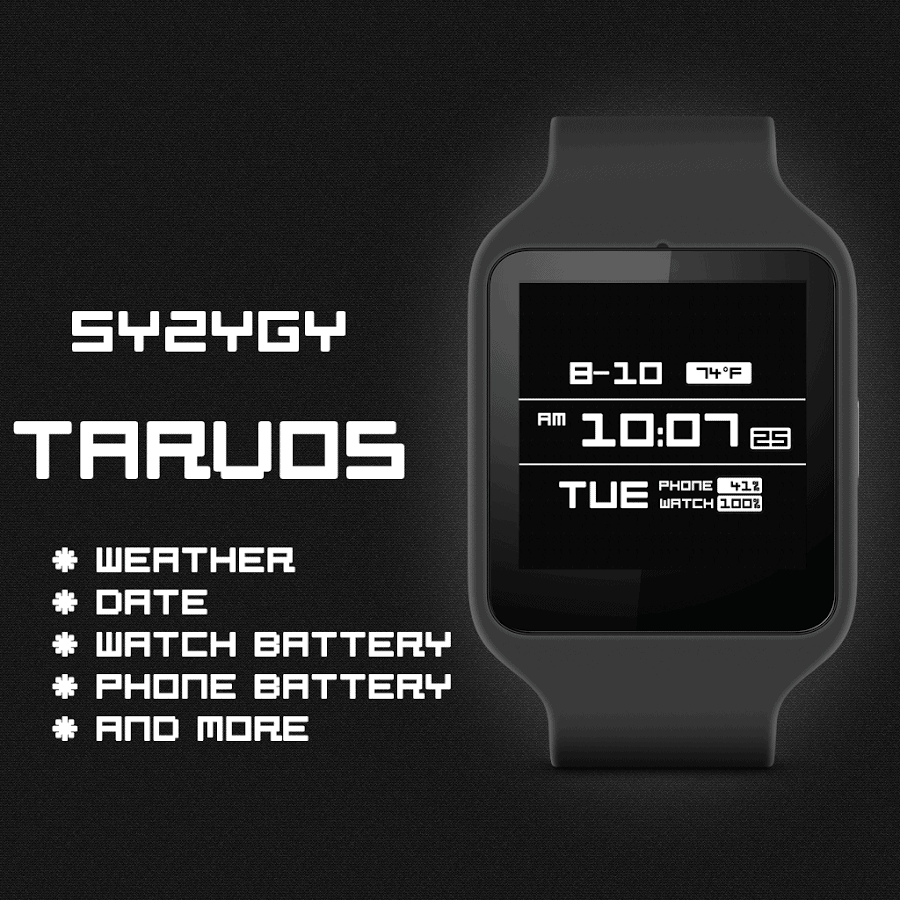 Tarvos Watch Face