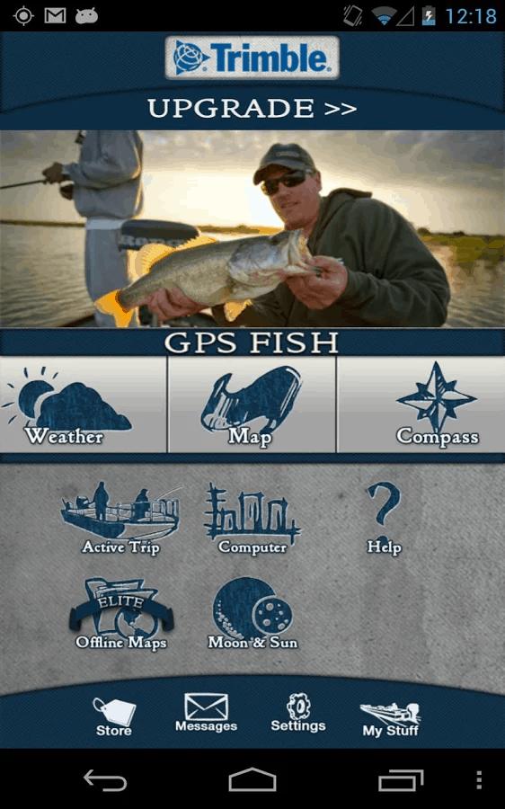 Trimble GPS Fish Free