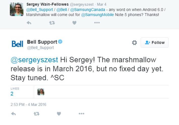 Tweet 6.0 Note 5 Bell