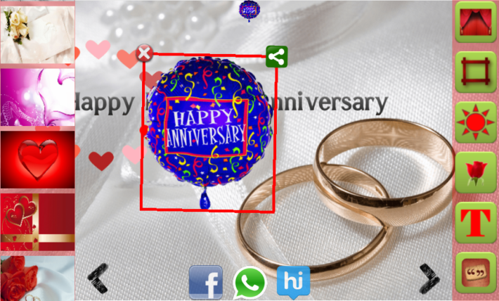 Wedding Anniversary Card Maker