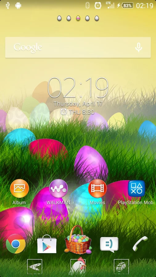 XPERIA™ Easter Theme