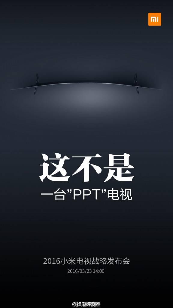 Xiaomi curved Mi TV 2016 teaser image_1
