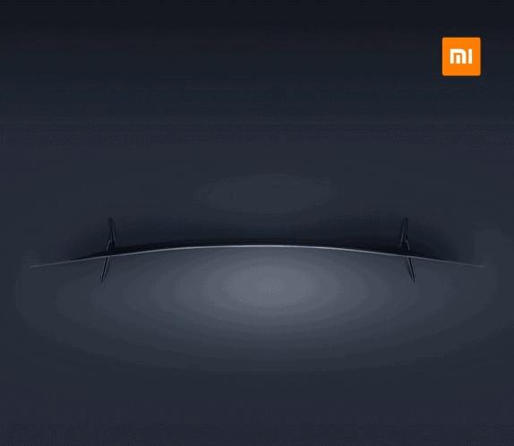 Xiaomi curved Mi TV 2016 teaser_2