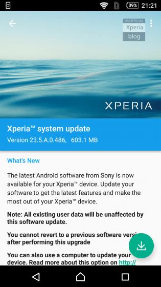 Xperia Marshmallow Beta KK 5