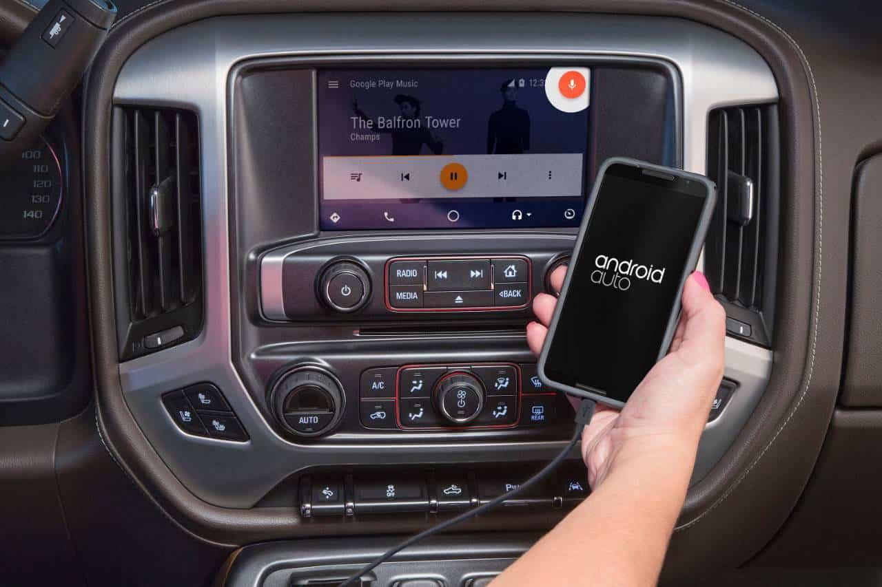 Android Auto GMC