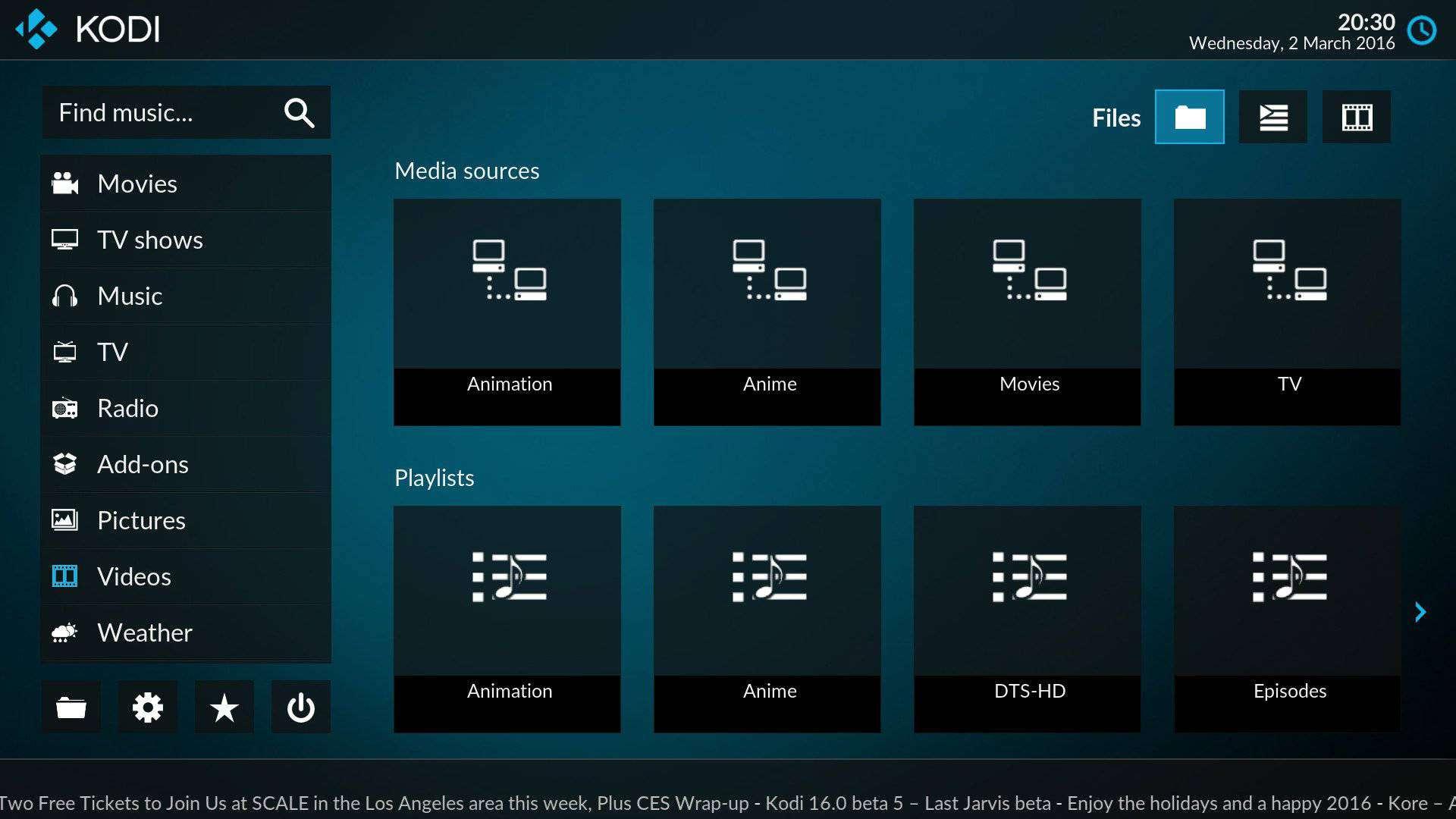 kodi media center redesign 5