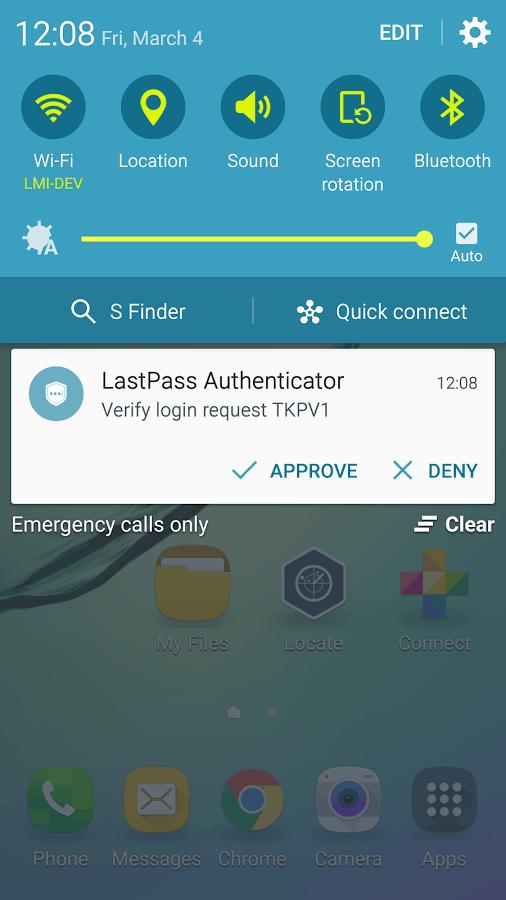 lastpass authenticator 5