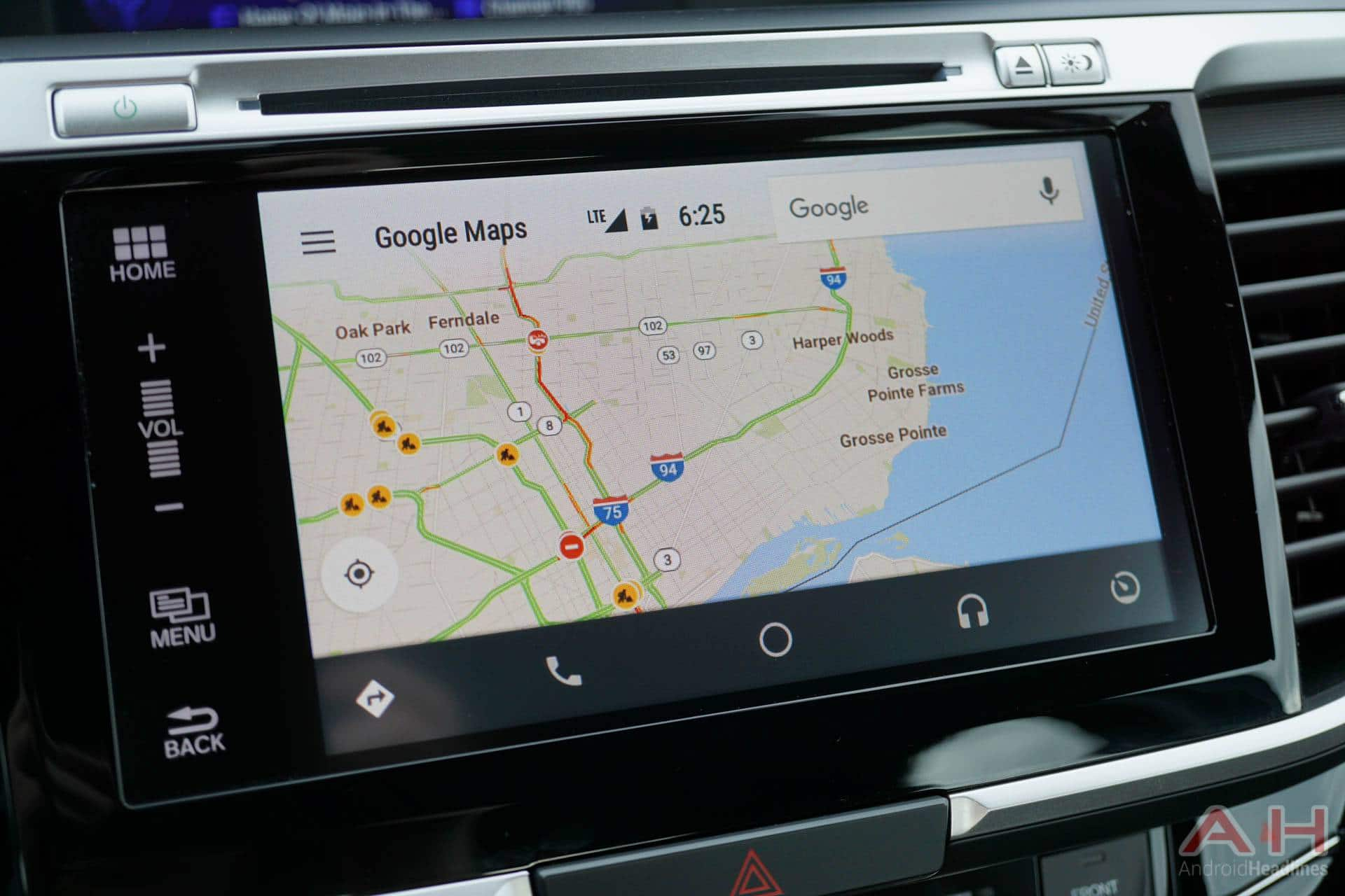 google maps broken in android auto on android n dev preview 4. Black Bedroom Furniture Sets. Home Design Ideas