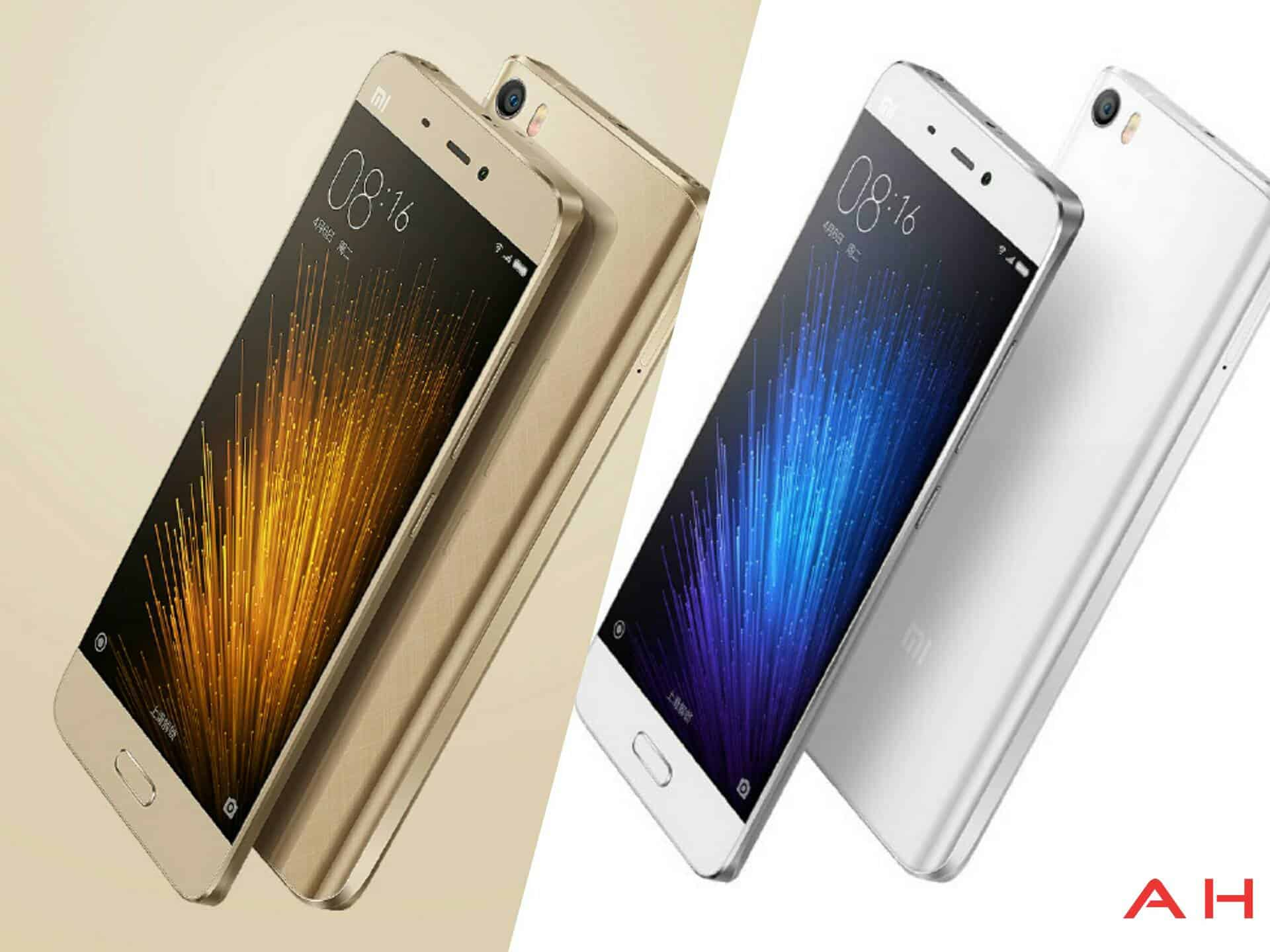 AH Xiaomi Mi 5 Gold and White_1
